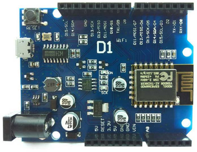 ESP8266_BOard_Arduino_UNO_Headers
