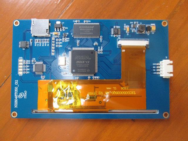 Nextion_TFT_Display_Altera_FPGA