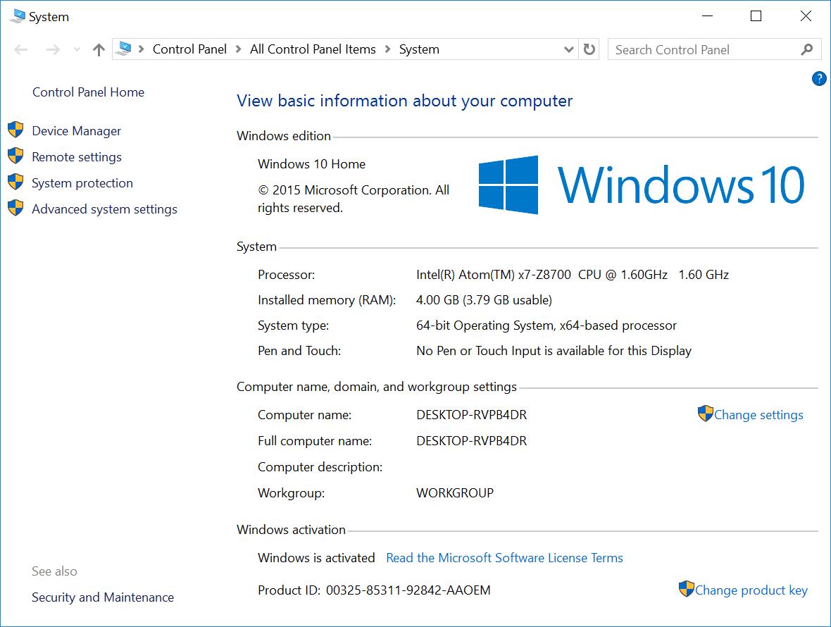 Voyo_V3_Windows_10_System_Info