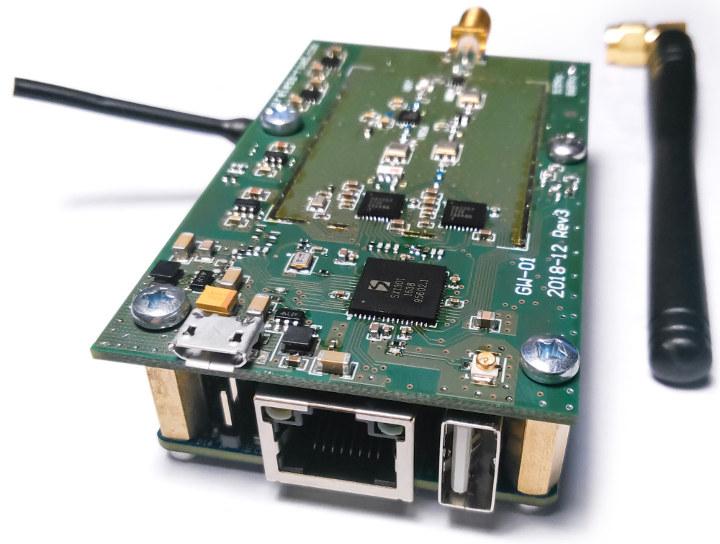 Шлюз M2M-<b>IoT</b> GW-01 <b>LoRaWAN</b> оснащен SBC Orange Pi Zero H2+